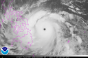 Super-Typhoon Haiyan Infrared