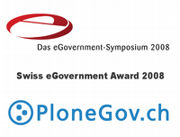 Swiss eGovernment Award 2008