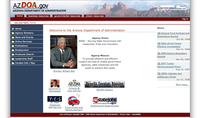 Arizona Department of Administration Web Portal